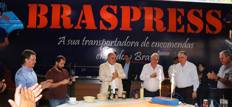 Braspress celebra 42 anos