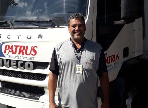 Emilio Cezar Motorista da Patrus Transporte