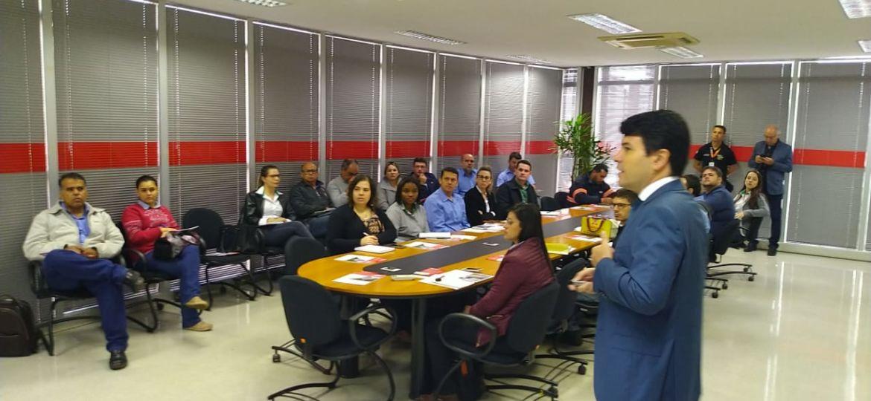 Walter Cerqueira na sede da Regional da Fiemg em Uberaba