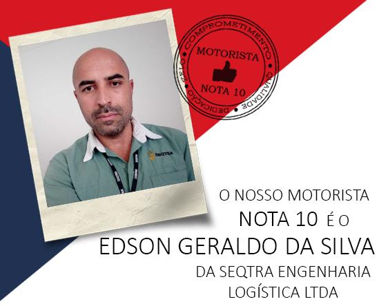 Imagem site - Motorista13 - Edson Geraldo da Silva