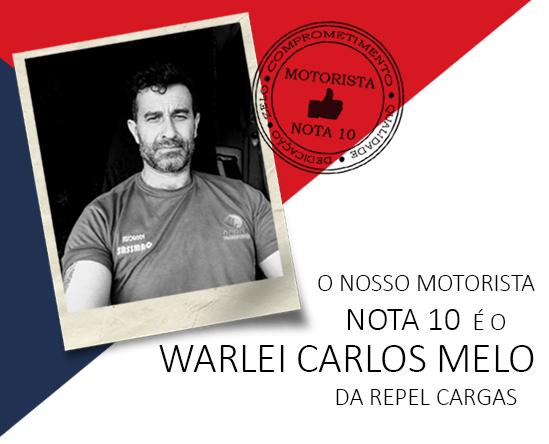 Motorista nota 10 - Warlei Carlos