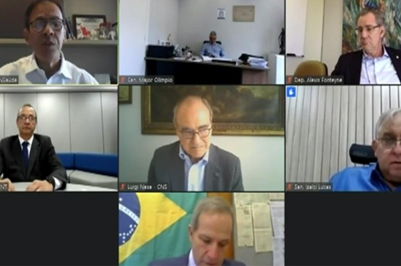 reunião CNT