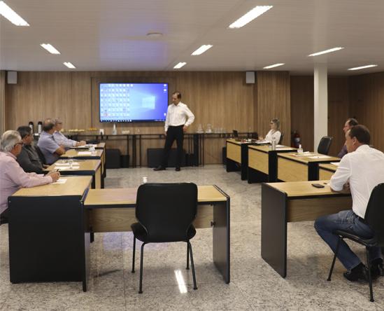 Imagem matéria - Reunião Conselho Fetcemg